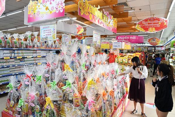 Co.opmart tăng giờ hoạt động phục vụ khách hàng sắm Tết